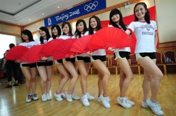 pom-pom girls chinoises