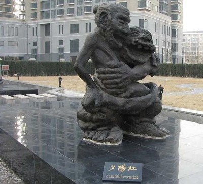 incroyables sculptures lotissement chinois