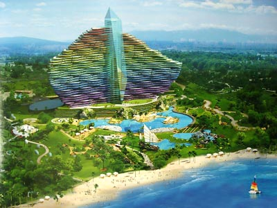Un premier h tel sept toiles chinois hainan for Hotels 2 etoiles